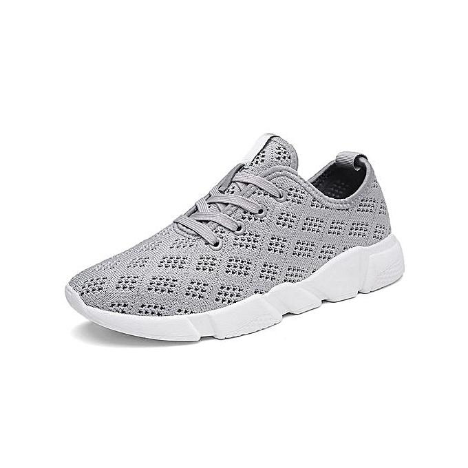 Fashion  s s  Abrasion Resistant Sport Shoes Daily Casual Shoes-Grey à prix pas cher    Jumia Maroc c72d0f