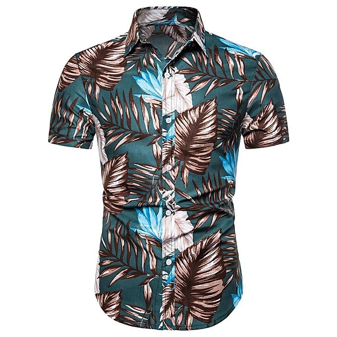 mode jiahsyc store Hommes été Bohe Linen manche courte  Basic T Shirt chemisier Fit Slim Printed Top à prix pas cher