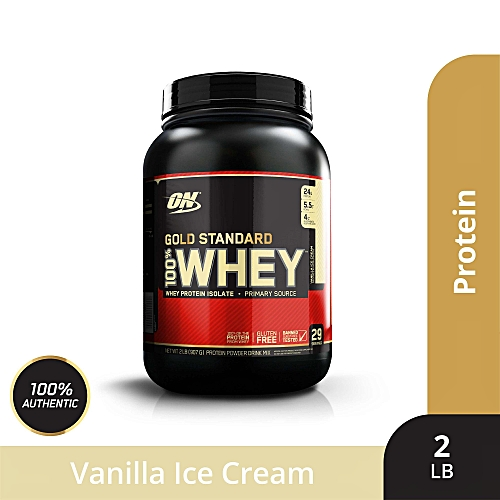 cf1116285724e4 Commandez Optimum Nutrition Gold Standard 100% Whey Protein vanille ...