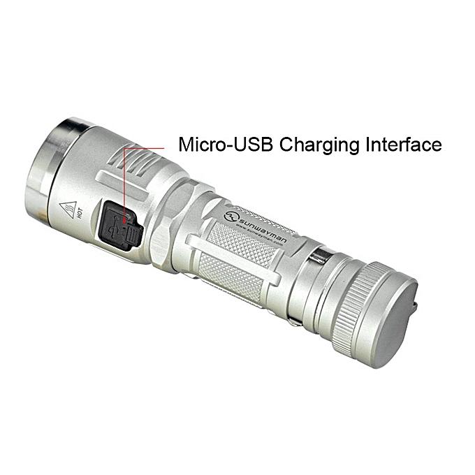 GENERAL quanxinhshang SUNWAYhomme 1000 Lumens C23C Highlight Outdoor Portable LED Flashlight à prix pas cher