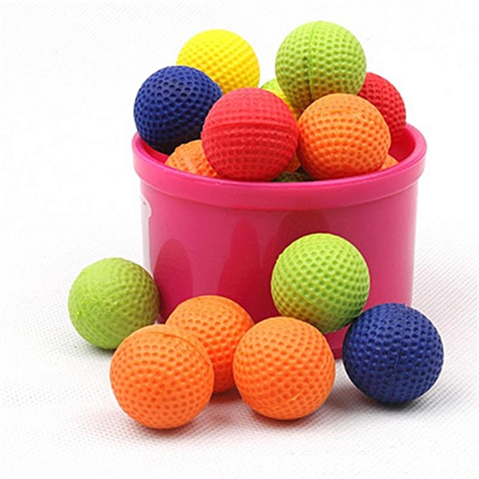 UNIVERSAL Nerf Rival Toy Compatible  Bullet Balls Rounds For Nerf Rival Zeus Apollo Refill jaune Or rouge - à prix pas cher
