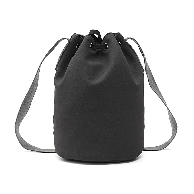 Fashion The spring of 2017 new tassel frosted bucket single shoulder bag à prix pas cher