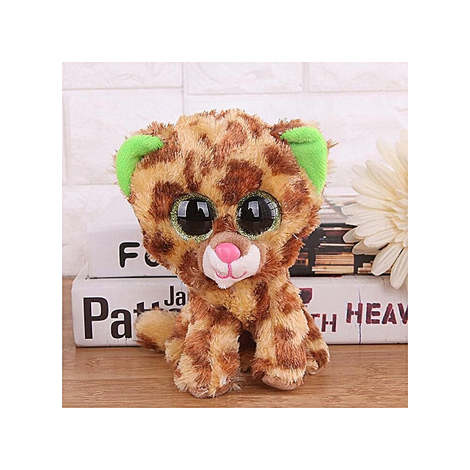 Autre Ty Beanie Boos Big Eyes Owl Cat Elephant Penguin Deer Lion Foxy Dog Rabbit Giraffe Monkey Stuffed Animals Plush Toys(21) à prix pas cher