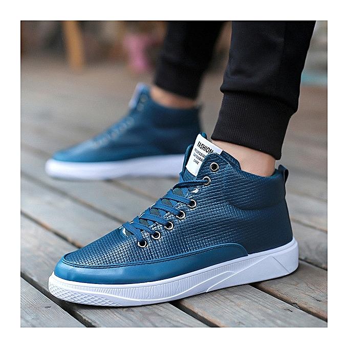 OEM New short bottes hommes chaussures hommes casual chaussures hommes chaussures-bleu à prix pas cher