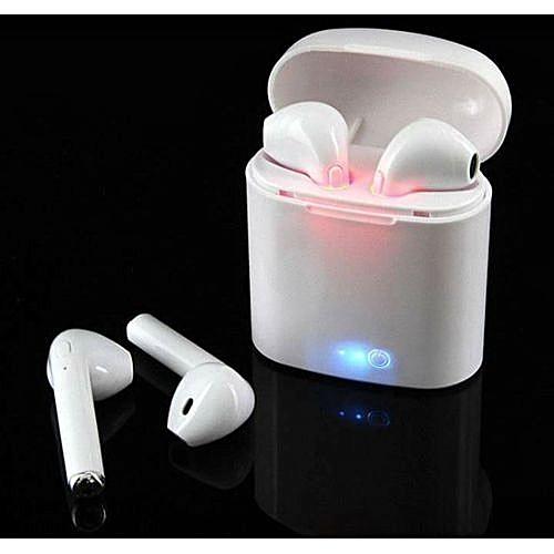 I7 TWS Écouteurs Ture Sans Fil Bluetooth Double Écouteur Jumeaux Écouteurs  Stéréo musique Casque 30d9289c3674