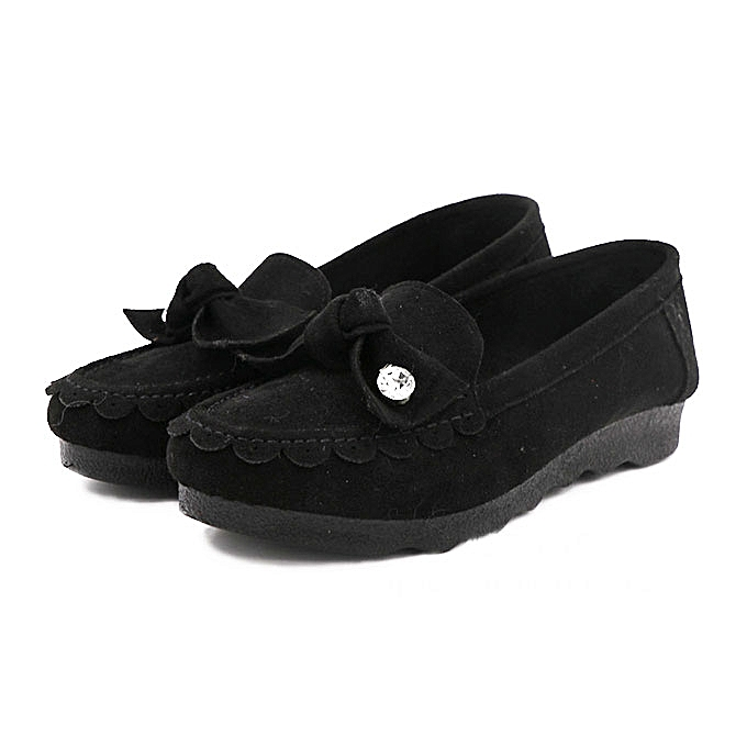 Fashion Casual Low Top femmes Slip On Flat chaussures In Suede à prix pas cher    Jumia Maroc