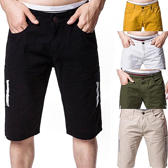 mode jiahsyc store Hommes& 039;s été Décontracté voiturego Pocket courtes à prix pas cher