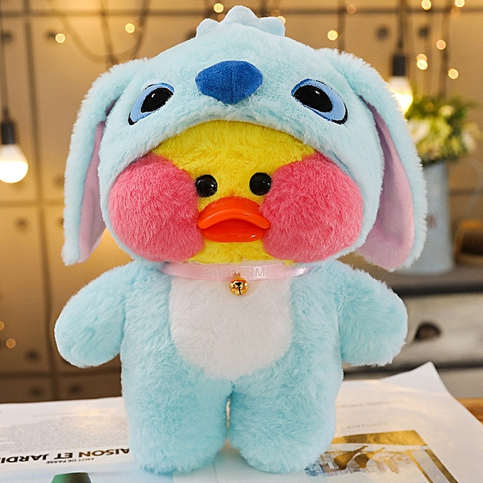 Autre 1PC 30cm Cute LaLafanfan Cafe Duck Plush Toy voituretoon Kawaii Duck Stuffed Doll Soft Animal Dolls Enfants Toys Birthday Gift for Girl(1) à prix pas cher