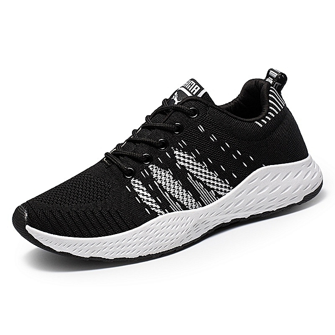 Other New Men's Korean Autumn Tidal Style Breathable Stripes Leisure Sports chaussures-blanc à prix pas cher