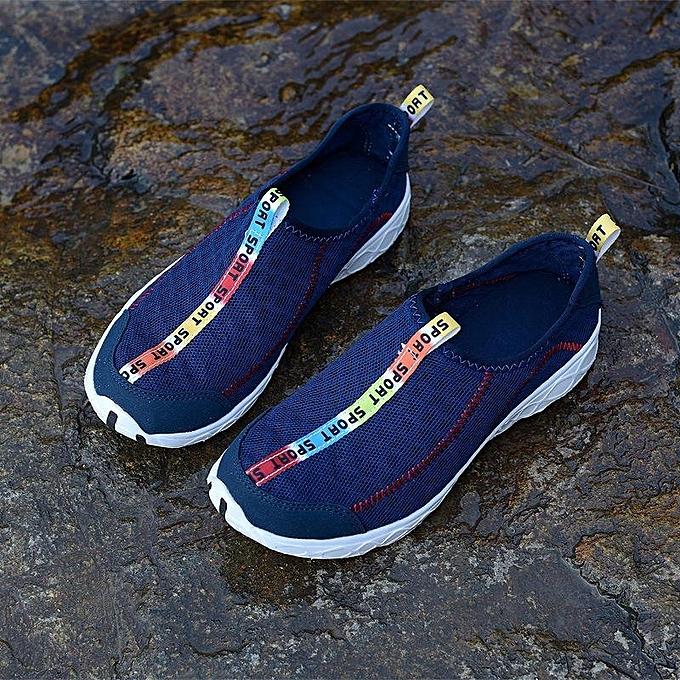 Fashion Fashion  s Wo  Sport Shoes Mesh Mesh Shoes Beach Swim Dance Yoga Aqua Outdoor Casual Sneakers-EU à prix pas cher  | Jumia Maroc a75f98