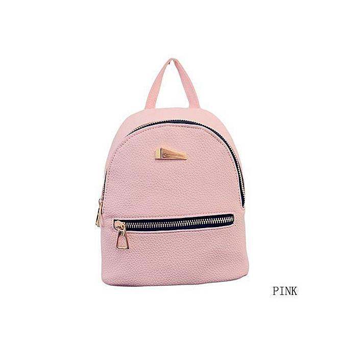 Fashion New Fashion Small Rucksack femmes Shopping Purse Ladies Joker Bookbag Travel Bag Student School Backpacks Mini femmes Backpack à prix pas cher