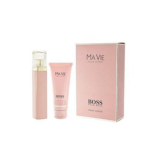 65abe5297 Coffret Ma Vie de Boss - Eau de parfum de 75 ml + Lait parfumé 100ml