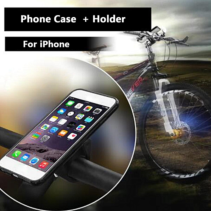 UNIVERSAL RideCase For iPhone Smart Phone Holder Case& Bike Bar Mount à prix pas cher