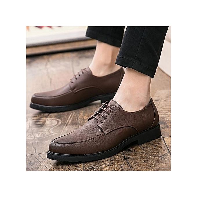 Fashion Men's Casual chaussures Moccasins Genuine Leather Boat chaussures Men Formal chaussures à prix pas cher    Jumia Maroc