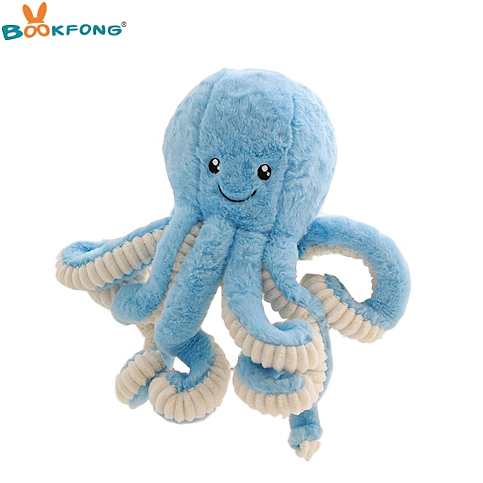 Autre 18cm Cute Simulation Octopus Plush Toy Soft Stuffed Animal Doll Decorative Toys Soft Deer Animal Home Accessories Gift(blanc) à prix pas cher