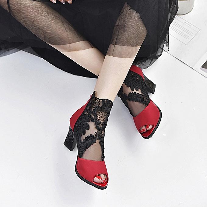 Générique Chaussures à Talons pour Femmes - Rouge à prix pas pas prix cher  | Jumia Maroc 4c7cc5