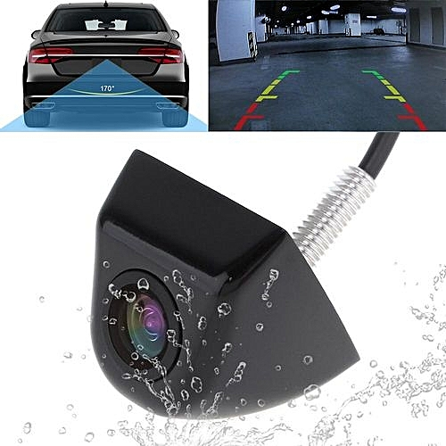 170 degree wide angle car rear view camera waterproof for Housse retroviseur