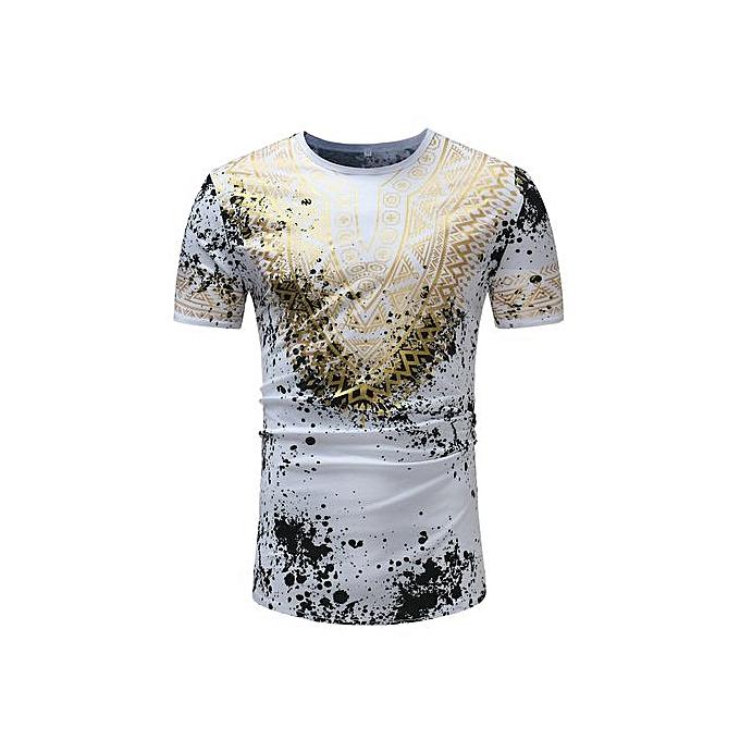 GeneAfrica Latest Trends Stylish Men Shirt à prix pas cher