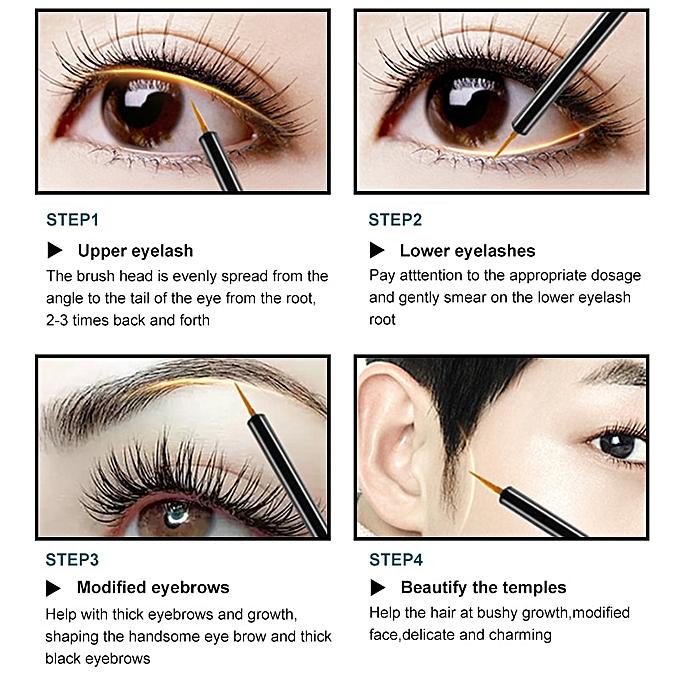 f8b89bf2c42 ... Eyelash Enhancer 100% Eyelash Growth Treatment Serum Natural Herbal  Medicine Eye Lashes Mascara Lengthening Longer ...