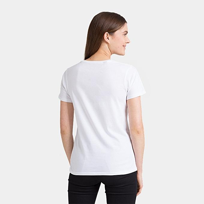 Wivi, T-Shirt Femme, Blanc (White), 42 (Taille Fabricant:XL)Minimum