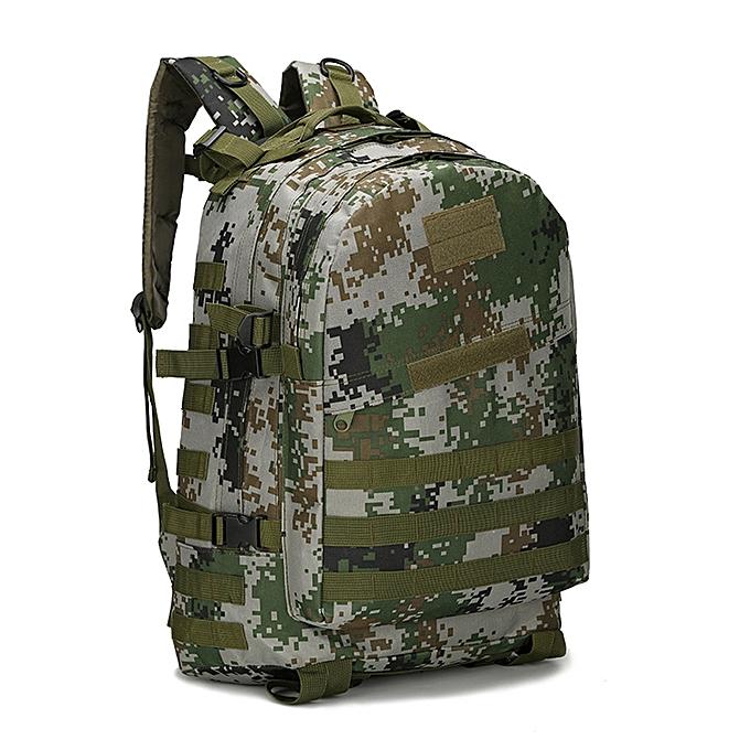 mode Tcetoctre 40L 3D sac à dos de plein air Trekking Sport voyage  Camping Hiking Camouflage sac I-As shown à prix pas cher