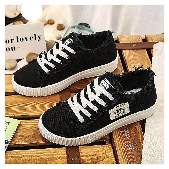Fashion Wohommes casual chaussures, versatile blanc chaussures à prix pas cher    Jumia Maroc