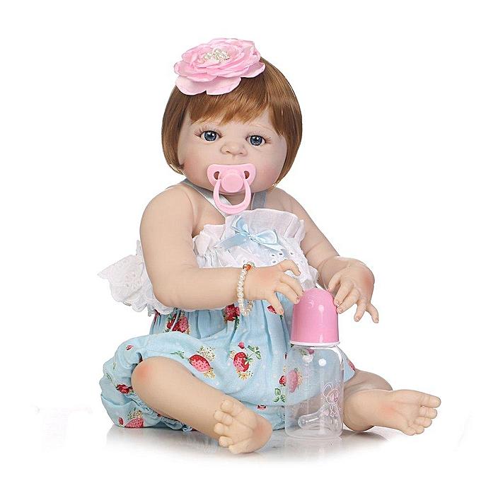 Autre UR Simulation nouveau-né bébé poupée jouets complet du corps en silicone souple vinyle bébé poupée à prix pas cher