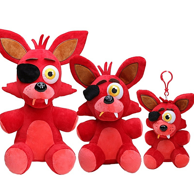 Autre 15cm 45cm Five Nights at Frougedy's Plush Toy FNAF Toys Nightmare rouge Foxy Frougedy Fazbear Plush Keychain Pendant Soft Stuffed Doll(15cm nightmare foxy) à prix pas cher