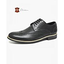 Marque New Style rétro style Chaussures hommes, de haute qualité homme Souliers simple, Derbies Casual Hommes,noir,41