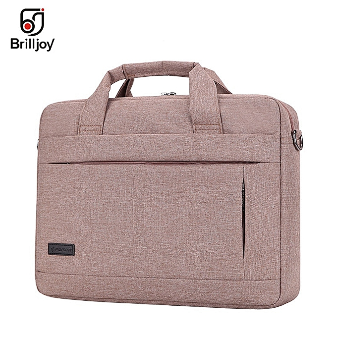 Other Brilljoy Hommes femmes voyage Briefcase Bussiness Notebook sac for grand capacité Laptop Handsac for 14 15 Inch Macbook Pro Dell PC(Khaki 13 Inch) à prix pas cher