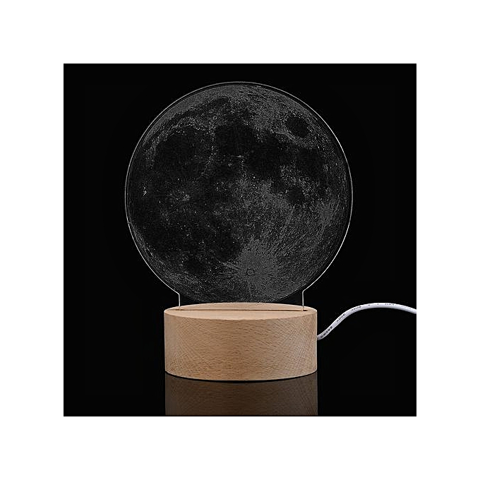 Generic Haojks-Milky Way Panel Acrylic 3D LED Earth Lamp Night Light Desk Gift à prix pas cher