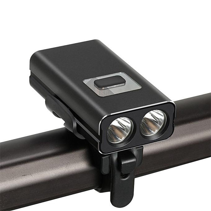 Generic High light LED Cycling Bike Lamp Bicycle Head Light Flashlight Waterproof à prix pas cher