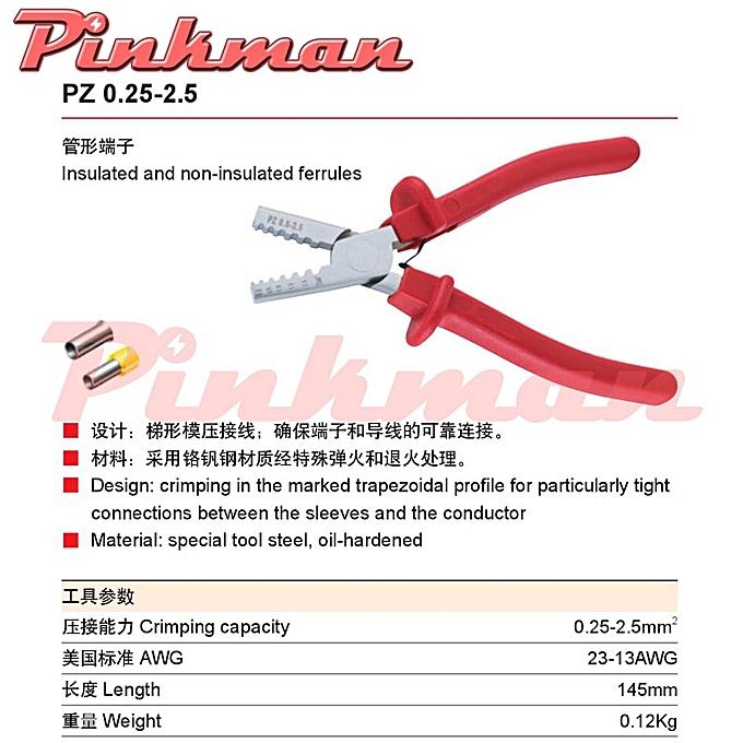 Autre PZ0.25-2.5  PZ1.5-6  PZ0.5-16   PZ10-35 HS-202B  MINI-TYPE  CRIMPING PLIER terminals crimping tools(PZ 0 25  2 5) à prix pas cher