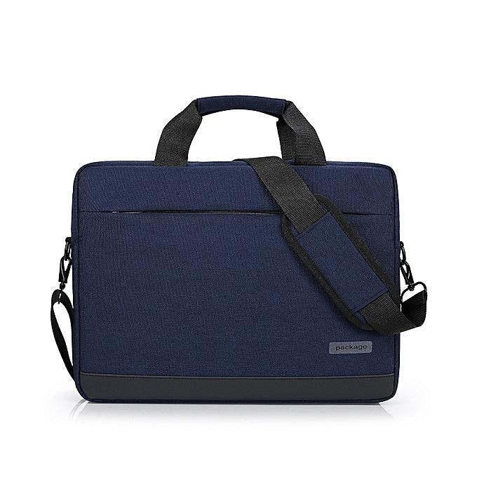 OEM 14 inch Universal Laptop Bag Notebook Case Briefcase-bleu à prix pas cher