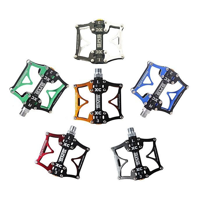 UNIVERSAL SHANMASHI Aluminum Alloy Bike Bicycle Pedal Ultralight Professional 3 Bearing Mountain Bike Pedal à prix pas cher