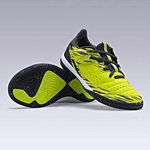 meet 12dcc 7981f Kipsta CHAUSSURES DE FUTSAL ESKUDO 500 KD JAUNE ENFANT فوتسال أحذية اطفال  كرة القدم