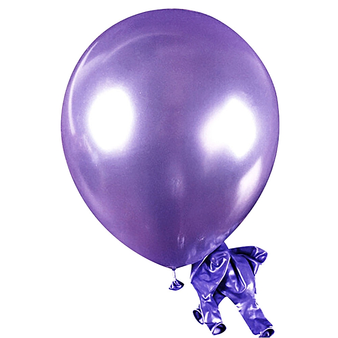 Generic 100pcs Pearl Latex Balloon Celebration Party Wedding Birthday Kids Toys PP à prix pas cher