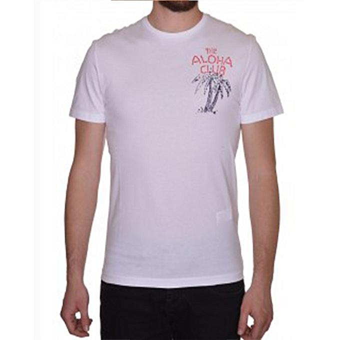 Commandez Celio T-shirt - Blanc à prix pas cher   Jumia Maroc f97ac825d17