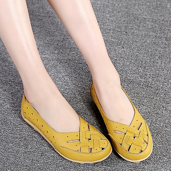 Fashion Xiuxingzi Wohommes chaussures Lady Flats Sandals Leather Ankle Casual Slipper Soft chaussures à prix pas cher