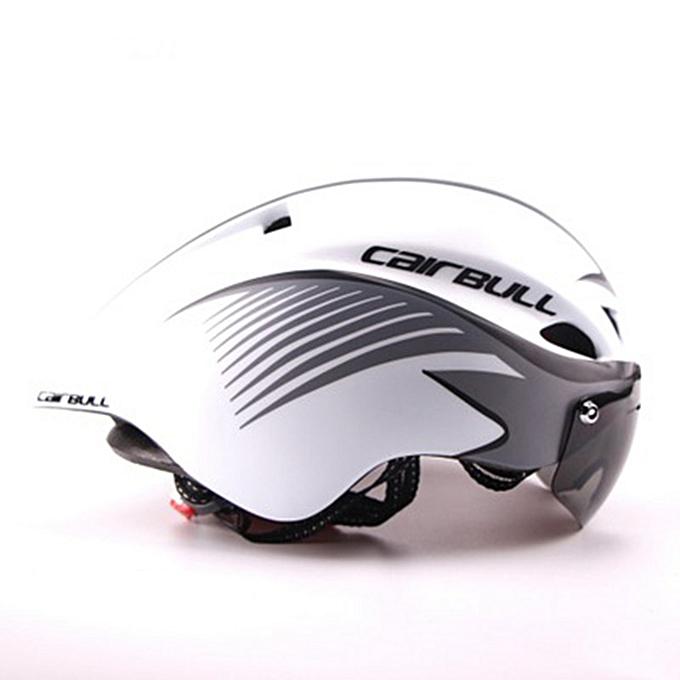 UNIVERSAL CAIRBULL TT Goggles Bicycle Helmet Road Cycling Bike Sport Helmet Outdoor Helmet With Sunglasses à prix pas cher