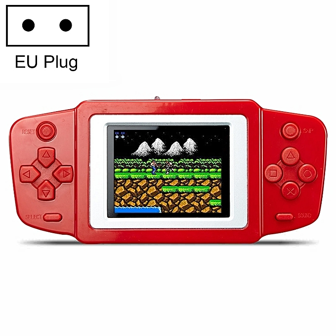 UNIVERSAL Cool  RS-33 268 in 1 Classic Games Handheld Game Console with 2.5 inch Couleur Screen, EU Plug(rouge) à prix pas cher