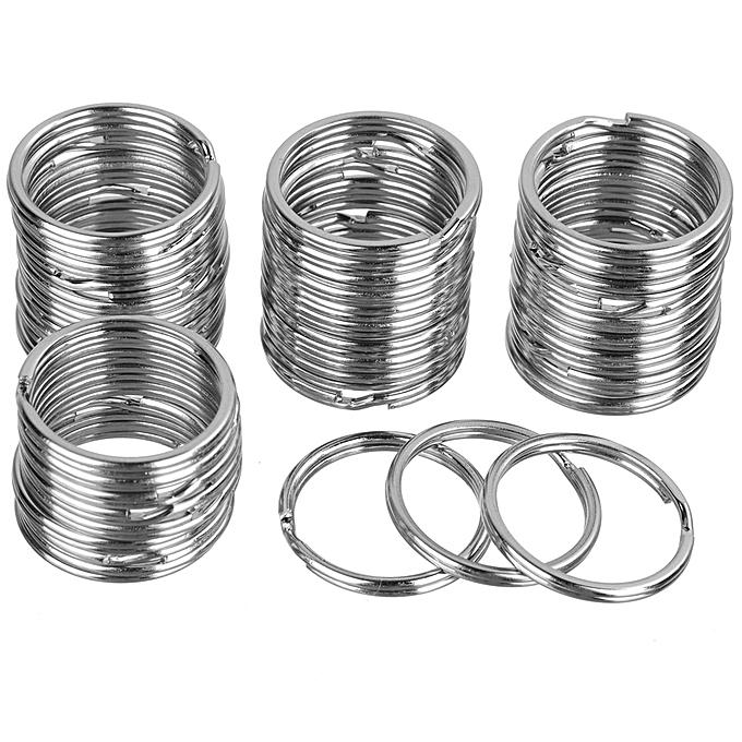 Other 25mm Round Metal Iron Split Key Rings 100 PCS à prix pas cher