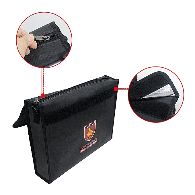 UNIVERSAL Fireproof Bag Money And Document Safe Resistant To 1100 Degrees 12 By 16 By 3 In à prix pas cher
