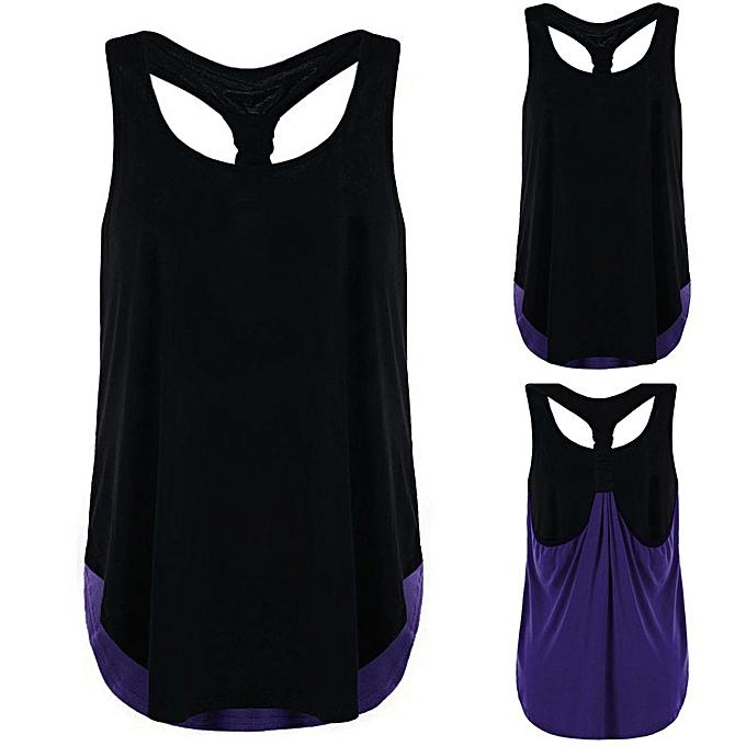 Generic Generic femmes Summer Vest Top Sleeveless Blouse Casual Tank Tops T-Shirt A1 à prix pas cher