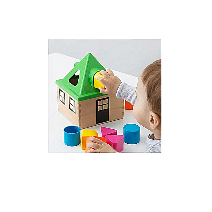 Ikea Puzzle formes, multiCouleure pour les enfants  à prix pas cher