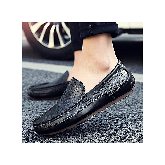 À Ons Black Leather Loafer Prix Ht 's Slip Texturouge wXYS8qO