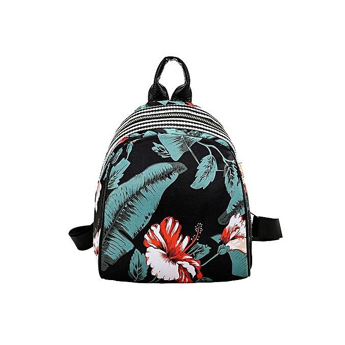 Generic femmes Girls Print Cute Preppy Style School sac voyage sac à dos sac à prix pas cher