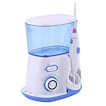 Professional Water Flosser Waterproof Dental Irrigator 10 Pulse Pressures 800 Capacity with 5 Jet Tips Plug