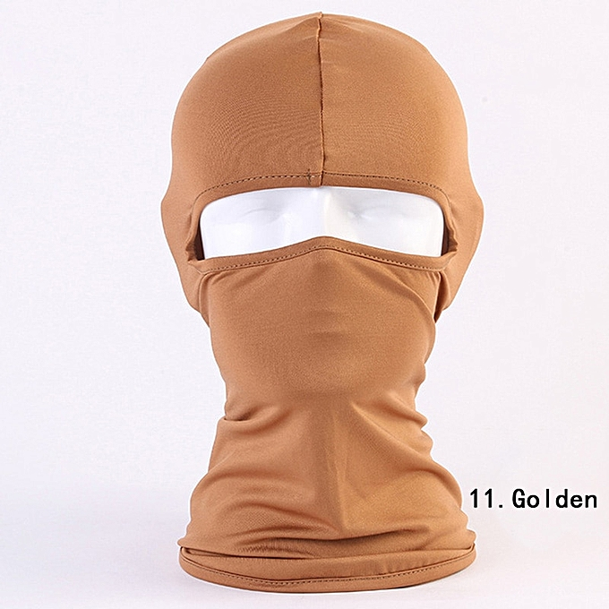 Autre Outdoor sports windproof mask winter neck warm balaclava hat mask ski motorcycle cycling climbing mask( 11) à prix pas cher