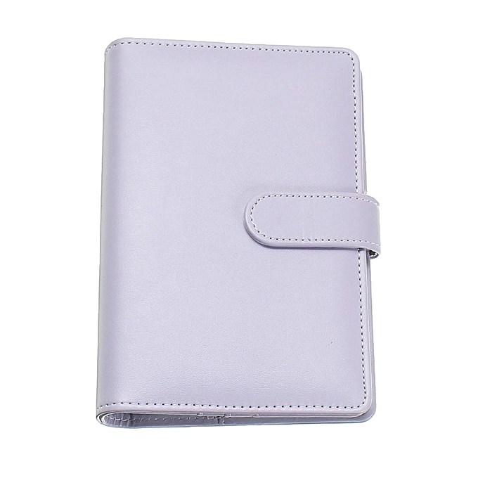 UNIVERSAL A6 Planner Agenda Synthetic Leather Loose Leaf Diary Weekly Notebook + 40 Sheets violet à prix pas cher